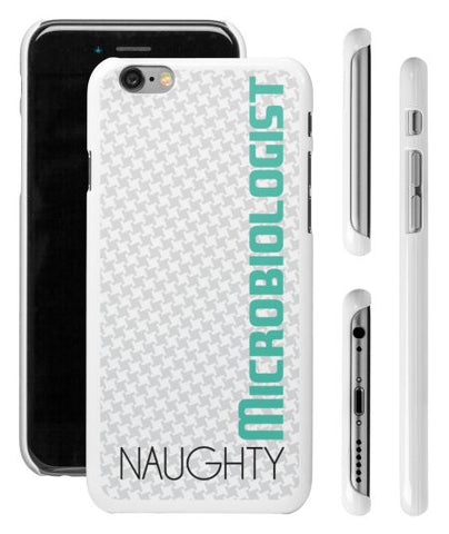 """Naughty Microbiologist"" - iPhone 6/6s Case  - LabRatGifts - 1"