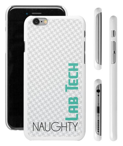 """Naughty Lab Tech"" - iPhone 6 Case  - LabRatGifts - 1"