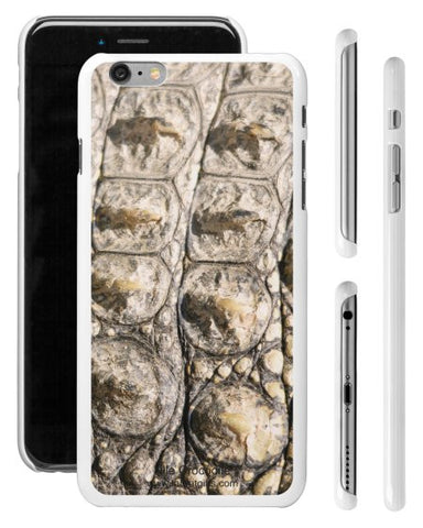 """Nile Crocodile"" - iPhone 6/6s Plus Case  - LabRatGifts - 1"