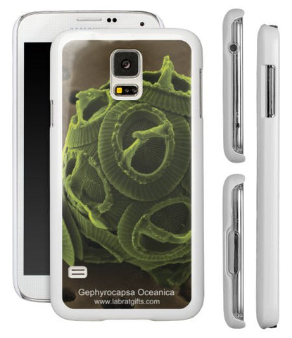 """Gephyrocapsa Oceanica"" - Samsung Galaxy S5 Case  - LabRatGifts - 1"