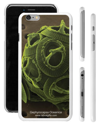 """Gephyrocapsa Oceanica"" - iPhone 6/6s Plus Case  - LabRatGifts - 1"