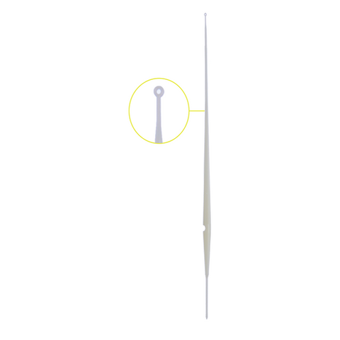 Abdos Soft Inoculation Loop Gamma Radiated Sterile ABS, Length 200mm, Sleeve of 20 PCS, White, 2000/CS