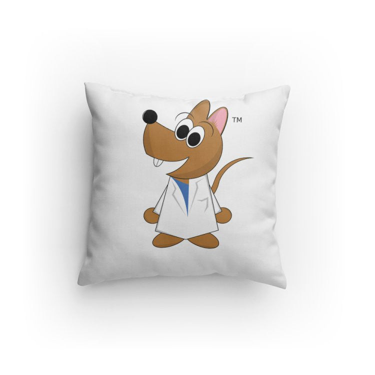 """Matt the Rat"" - Pillow  - LabRatGifts"