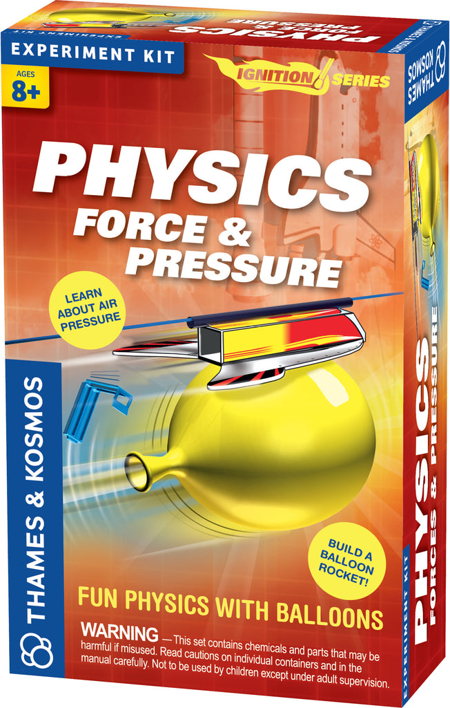 """Physics: Force & Pressure"" - Science Kit  - LabRatGifts - 1"