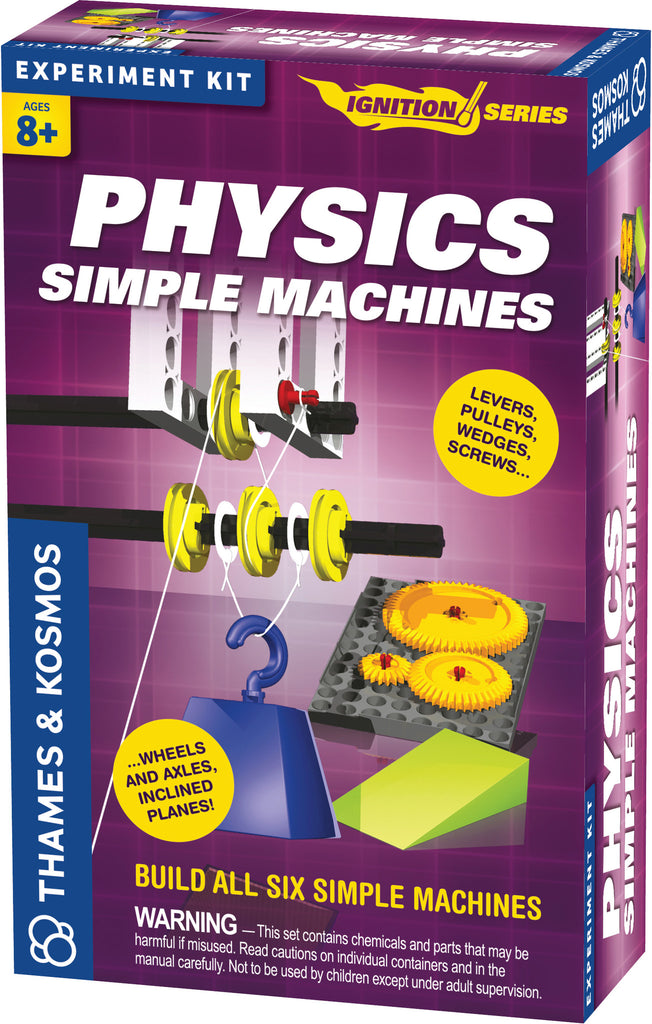 """Physics: Simple Machines"" - Science Kit  - LabRatGifts - 1"