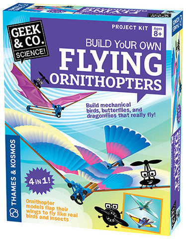 """Flying Ornithopters"" - Science Kit  - LabRatGifts - 1"