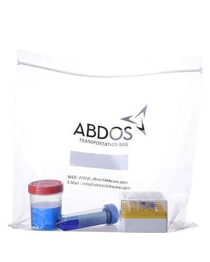 Abdos Resealable Bags with Zip Lock, Polyethylene (PE) (13 X 13 IN) 100/CS