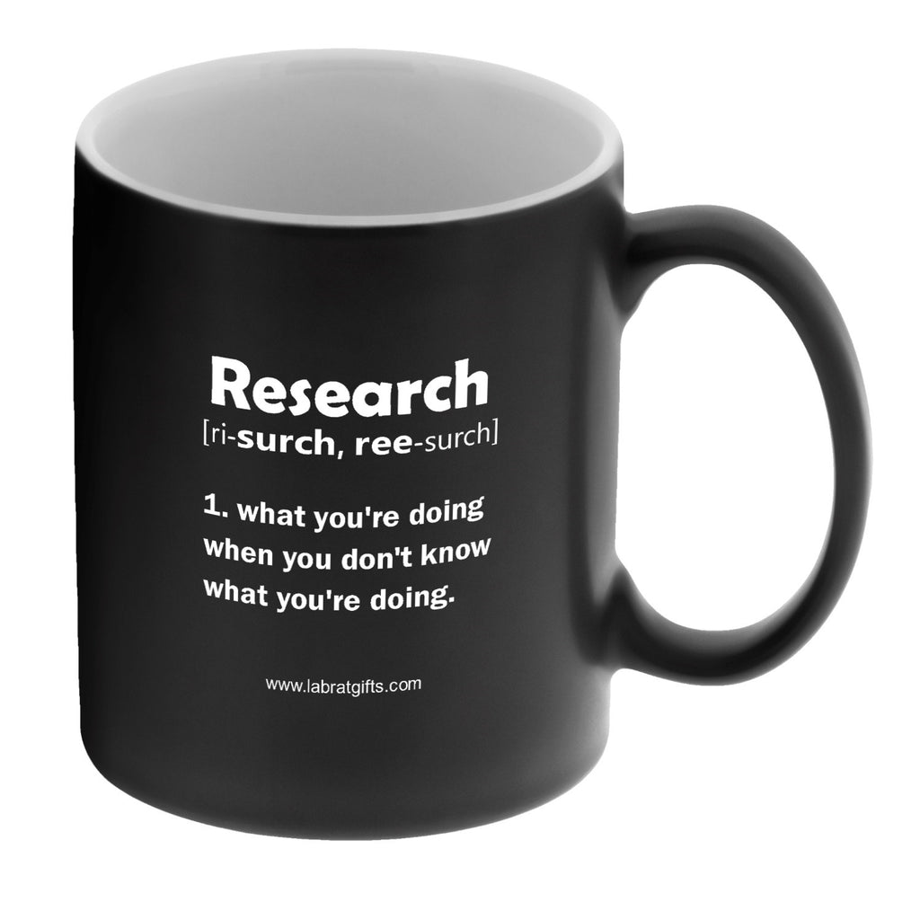 """Research"" - Mug  - LabRatGifts"