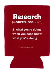 """Research"" - Koozie  - LabRatGifts"