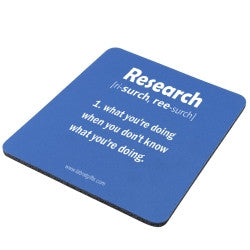 """Research"" - Mouse Pad  - LabRatGifts"