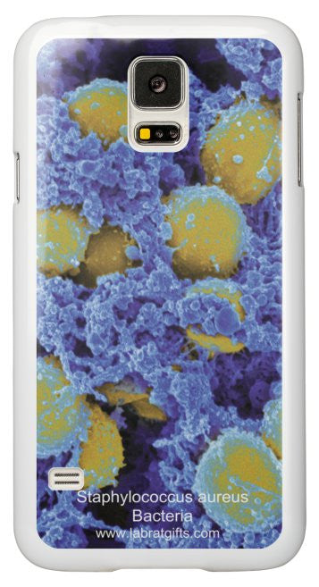 """Staphylococcus Bacteria"" - Samsung Galaxy S5 Case Default Title - LabRatGifts - 2"