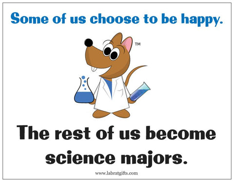 """Science Majors"" - Magnet Default Title - LabRatGifts"