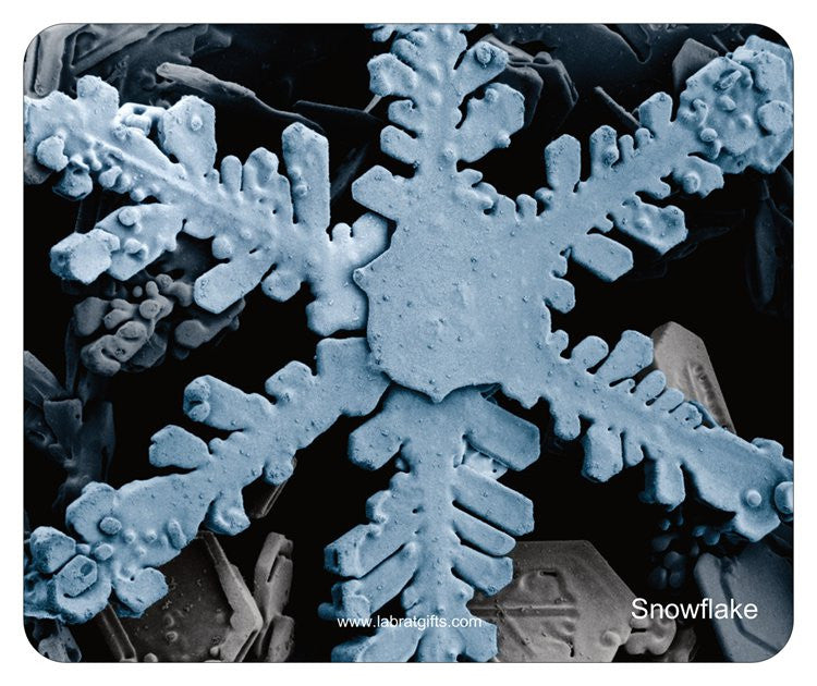 """Snowflake"" - Mouse Pad Default Title - LabRatGifts"