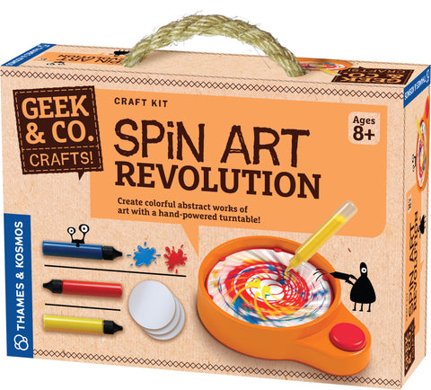 """Spin Art Revolution"" - Craft Kit  - LabRatGifts - 1"