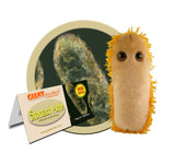 Stomach Ache (Shigella dysenteriae) - GIANTmicrobes® Plush Toy Default Title - LabRatGifts - 1