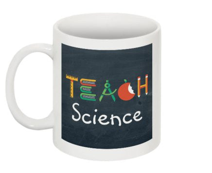 """Teach Science"" - Mug  - LabRatGifts - 1"