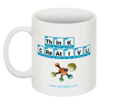 """ThInK CReAtIVLi"" - Mug Default Title - LabRatGifts - 1"