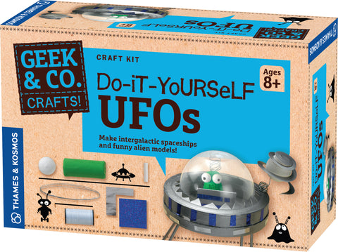"""Do-It-Yourself UFOs"" - Craft Kit  - LabRatGifts - 1"
