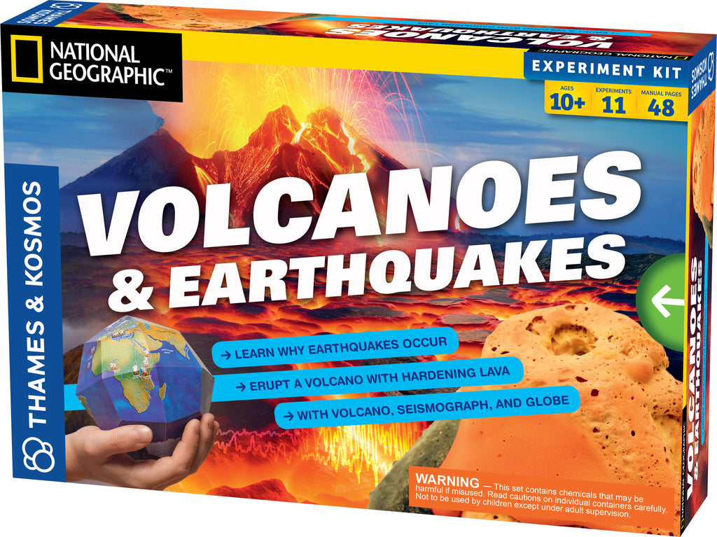 """Volcanoes & Earthquakes"" - Science Kit  - LabRatGifts - 1"