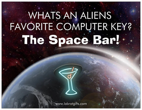 """The Space Bar"" - Magnet  - LabRatGifts"