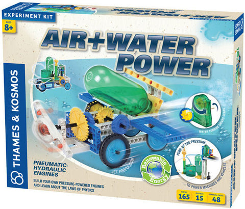 """Air+Water Power"" - Experiment Kit  - LabRatGifts - 1"