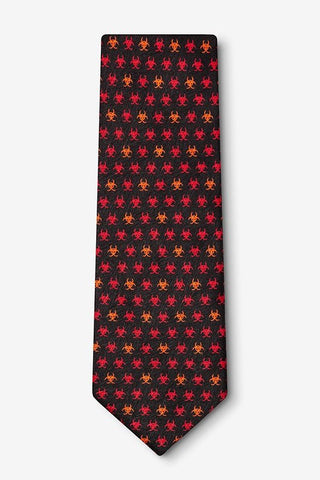Infectious Awareables™ Biohazard Tie  - LabRatGifts - 1
