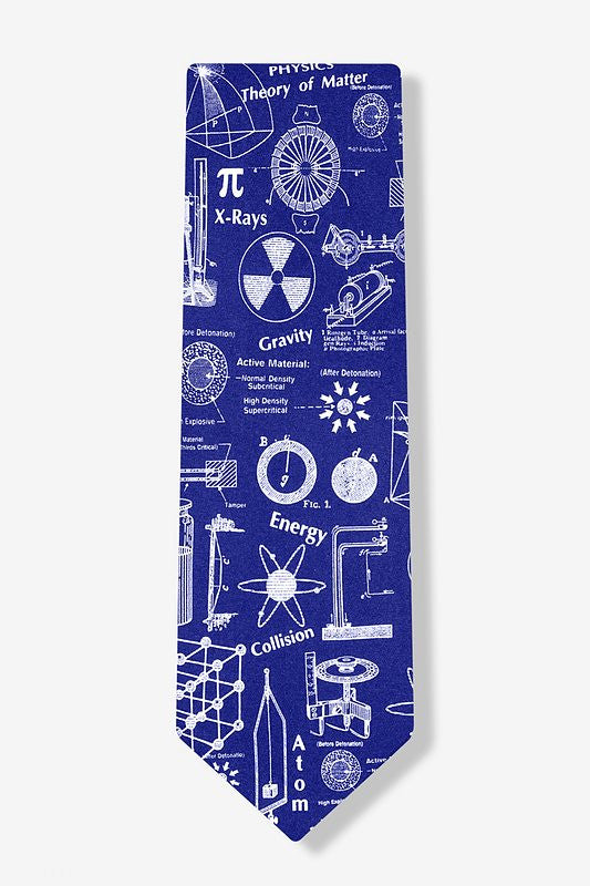 Nuclear Physics Tie  - LabRatGifts - 1