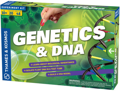 """Genetics & DNA"" - Science Kit  - LabRatGifts - 1"