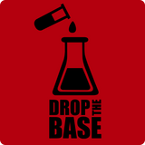 """Drop the Base"" (black) - Men's T-Shirt  - LabRatGifts - 10"