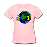 """We Only Get 1 Earth"" - Women's T-Shirt - pink"