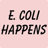 """E. Coli Happens"" (black) - Women's T-Shirt  - LabRatGifts - 11"