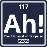 """Ah! The Element of Surprise"" - Men's T-Shirt  - LabRatGifts - 11"