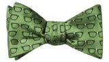 Four Eyes Bow Tie Green - LabRatGifts - 5