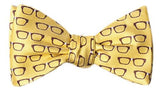 Four Eyes Bow Tie Yellow - LabRatGifts - 3