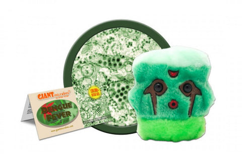 Dengue Fever (Dengue virus) - GIANTmicrobes® Plush Toy  - LabRatGifts - 1