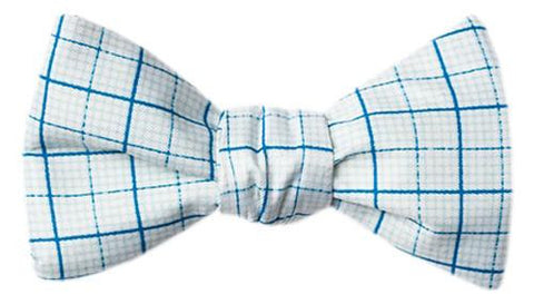 Graph Paper Bow Tie  - LabRatGifts - 1