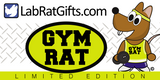 """Gym Rat"" - Plush Toy  - LabRatGifts - 2"