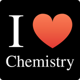 """I ♥ Chemistry"" (white) - Women's T-Shirt  - LabRatGifts - 12"