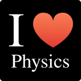 """I ♥ Physics"" (white) - Women's T-Shirt  - LabRatGifts - 11"
