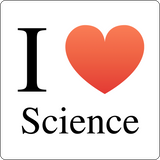 """I ♥ Science"" (black) - Men's T-Shirt  - LabRatGifts - 12"