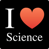 """I ♥ Science"" (white) - Men's T-Shirt  - LabRatGifts - 12"