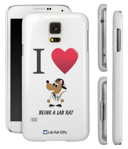 """I ♥ Being A Lab Rat"" - Samsung Galaxy S5 Case  - LabRatGifts - 1"