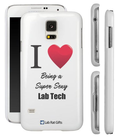 """I ♥ Being a Super Sexy Lab Tech"" - Samsung Galaxy S5 Case  - LabRatGifts - 1"