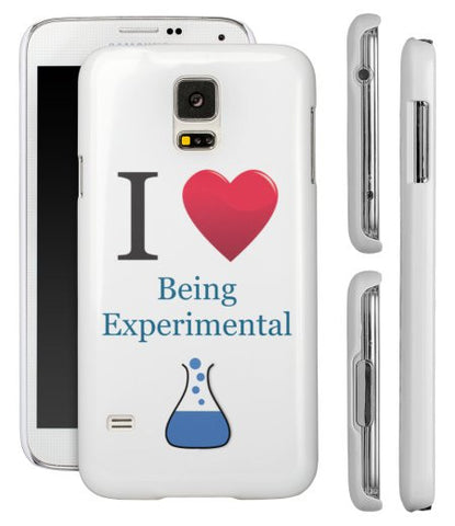 """I ♥ Being Experimental"" - Samsung Galaxy S5 Case  - LabRatGifts - 1"