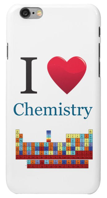 """I ♥ Chemistry"" - iPhone 6/6s Case Default Title - LabRatGifts - 2"