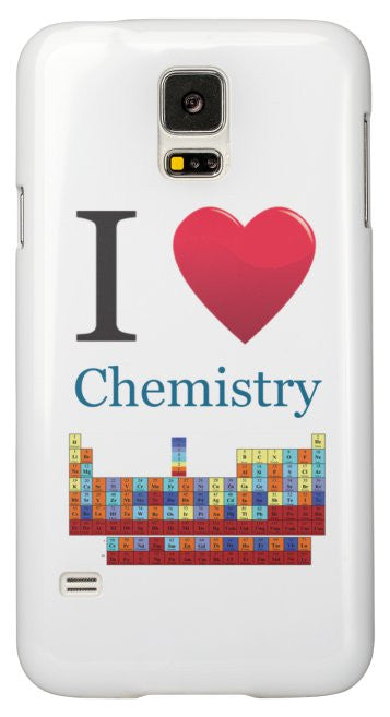 """I ♥ Chemistry"" - Samsung Galaxy S5 Case Default Title - LabRatGifts - 2"