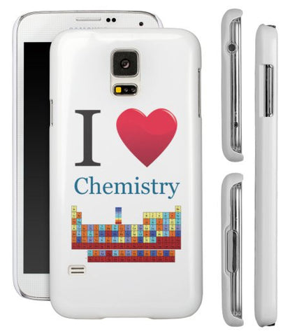 """I ♥ Chemistry"" - Samsung Galaxy S5 Case  - LabRatGifts - 1"