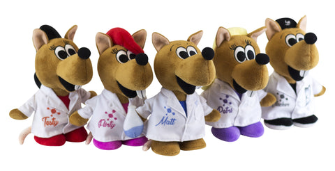 """The Lab Rat Pack"" - Plush Toy Collection  - LabRatGifts"