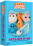 Let's Get It On - GIANTmicrobes® Plush Toy Gift Box  - LabRatGifts - 1