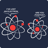 """I've Lost an Electron"" - Men's T-Shirt  - LabRatGifts - 9"